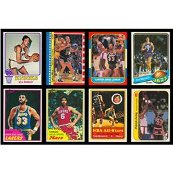 1973-1987 Topps and Fleer Basketball Card Collection of Near Sets (8)