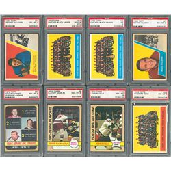 1950s-1972 Topps Hockey Collection with PSA Graded