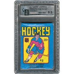 1979 O-Pee-Chee Hockey Wax Pack - GAI GEM MINT 9.5