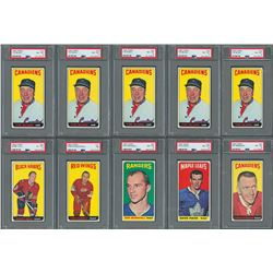 1964 Topps Hockey High Grade PSA Collection (11)