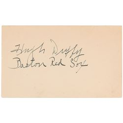 Hugh Duffy Signature