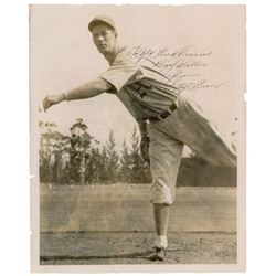 Lefty Grove Signed Photograph