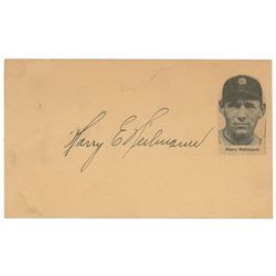 Harry Heilmann Signature