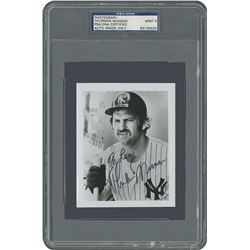 Thurman Munson Signed Photograph