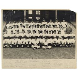New York Yankees 1962 Team-Signed Photograph