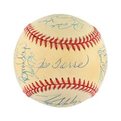 New York Yankees 1996 World Champions Team Signed Baseball with 23 Signatures