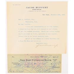 NY Yankees: Ruppert and Barrow Group Lot