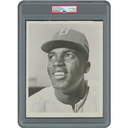 Jackie Robinson Signed Photograph
