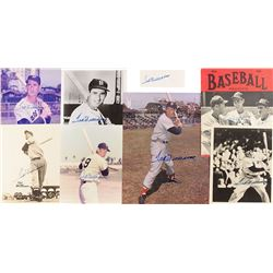 Ted Williams Group of (8) Signed Items