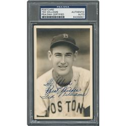 Ted Williams Signed Photograph