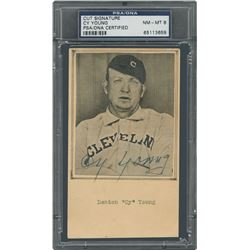 Cy Young Signed Photograph