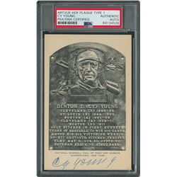 Cy Young Signed HOF Card - PSA/DNA
