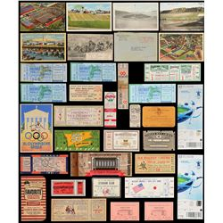 1930s-1970s Multi Sport Ticket Collection