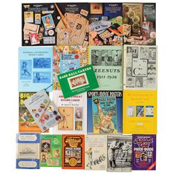 1960s-1980s Vast Sports Collectibles Catalog and Reference Book Library with Complete Run of All Mas