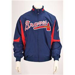 Tom Glavine's Game-Worn 2008 Atlanta Braves Therma Base Jacket