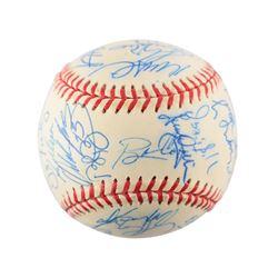 Tom Glavine's 1999 Atlanta Braves Team-Signed Baseball