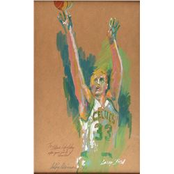 LeRoy Neiman Original Painting of Larry Bird