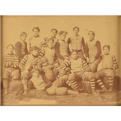 19th Century Football Photographs