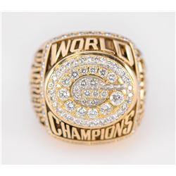 Harry Sydney's 1996 Green Bay Packers Super Bowl Ring