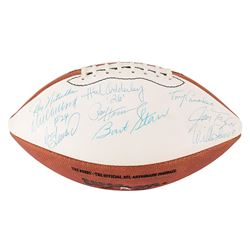 Green Bay Packers Hall of Famers Signed Football