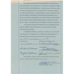 Red Cochran (3) Signed Documents