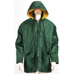 Red Cochran's Green Bay Packers 1970s Worn Sideline Jacket