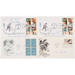 Hockey Legends Signed Cover Collection of (7)