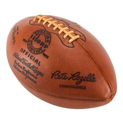 NFL 1965 Championship 'Last Score' Game-used Football