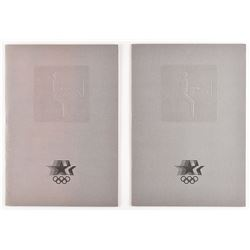 Los Angeles 1984 Summer Olympics Equestrian Programs
