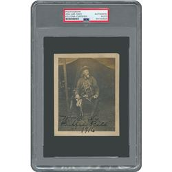 William F. 'Buffalo Bill' Cody Signed Photograph