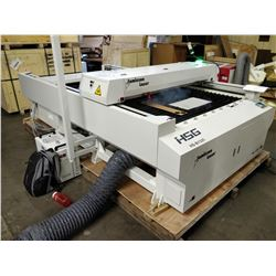 HS-1325 Laser Cutting and Engraving Machine. with CW5000 Chiller and BOFA AD1500IQ Extractor