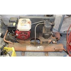 GAS COMPRESSOR, HONDA 5.5 ENGINE, 9GAL