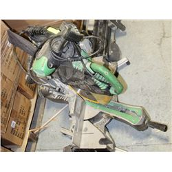 HITACHI CHOP SAW C12LSH AND STAND