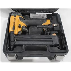 BOSTITCH PNEUMATIC BRAD NAILER.