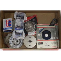 BOX OF DRILL BITS & DISCS