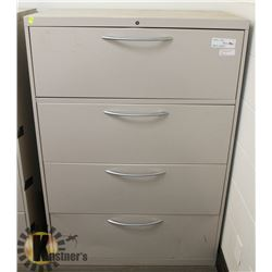 "4 DRAWER FILING CABINET (53"" TALL X 36"" WIDE X"