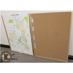 LOT OF TWO CORK BOARDS