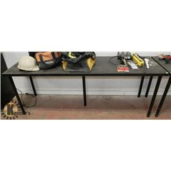 BLACK WORK TABLE