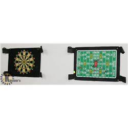 LOT OF TWO MAGNETIC GAMES WITH DARTS