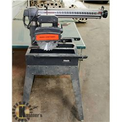 "SEARS/ CRAFTSMAN 10"" RADIAL ARM SAW"