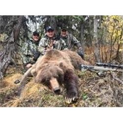 Alaska Brown Bear/ Black Bear Combo Hunt  Reserve Bid