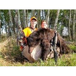 Saskatchewan Spring Black Bear Hunt