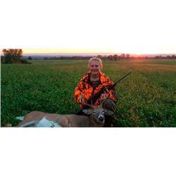 Tom and Rita Pratt 2 Day Youth Hunt Whitetail or Mule Deer