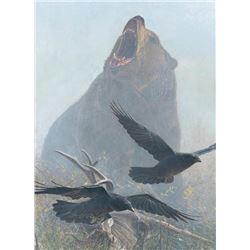 Banovich Grizzly Encounter