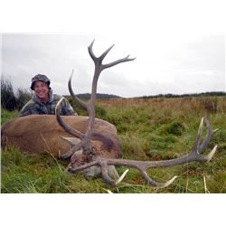 Red Stag Hunt in Scotland with International Adventures Unlimited