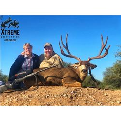 Mule Deer Hunt in Mexico with HR Big Game Outfitters and Fishing Tours