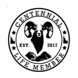 Idaho Wild Sheep Foundation Centennial Membership and Plaque