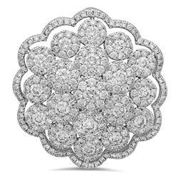 18k Gold 2.47CTW Diamond Pendant, (VS-SI1 /G)