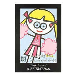 I'm Naturally Blonde So Please Speek Slowly! by Goldman, Todd