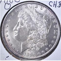 1886-O MORGAN DOLLAR CH BU CLEANED